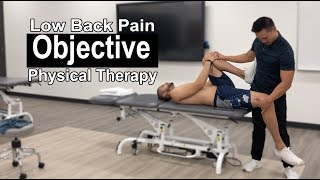 Low Back Pain OBJECTIVE Physical Therapy Exam | Part 2