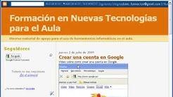 Blogger - Tutorial 2 - multimedia: sonido, imagen y vídeo.