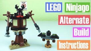 LEGO Ninjago Movie Spinjitzu Training alternate build instructions | Victor Loves Toys!