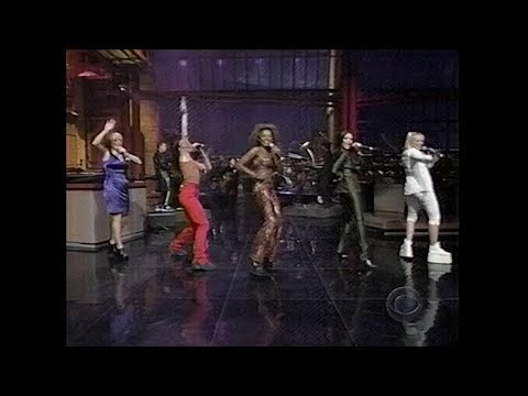 Spice Girls - Spice Up Your Life (The Late Show With David Letterman - Jan. 15th, 1997)