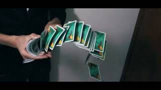 1000 fps slow motion video / infinity playing cards