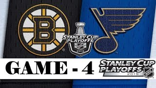 Boston Bruins vs St. Louis Blues | Final | Game 4 | Jun.03, 2019 | Stanley Cup 2019 | Обзор матча