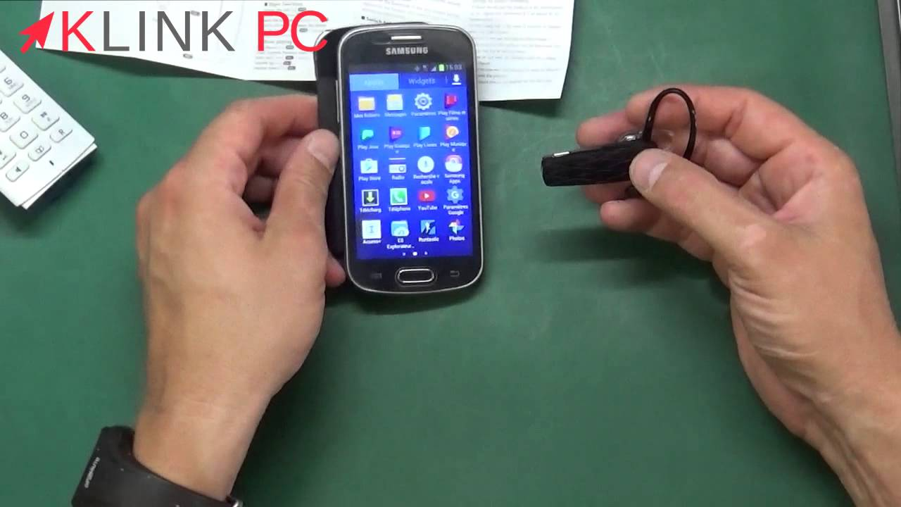 Oreillette Bluetooth 2 telephones en simultané