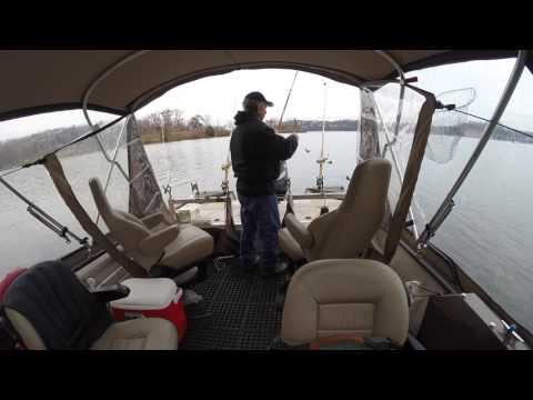 Catfishing on Lake of the Ozarks #7 (12-3-2016)
