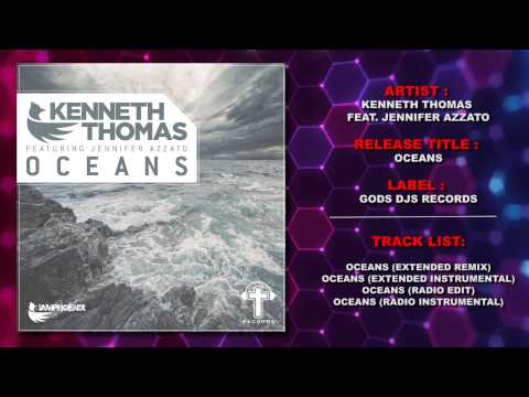 Hillsong United - Kenneth Thomas Feat. Jennifer Azzato - Oceans (Trance Remix) Hillsong Cover