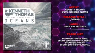 Kenneth Thomas Feat. Jennifer Azzato - Oceans (Trance Remix) Hillsong Cover
