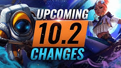MASSIVE CHANGES: New Buffs & REWORKS Coming in Patch 10.2 - League of Legends