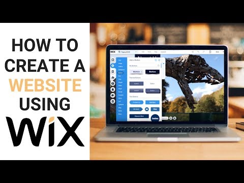 Wix Website Tutorial-Create A Website With Wix.LINK BELOW FOR NEW WIX VIDEO!! AUGUST  2017 UPDATE