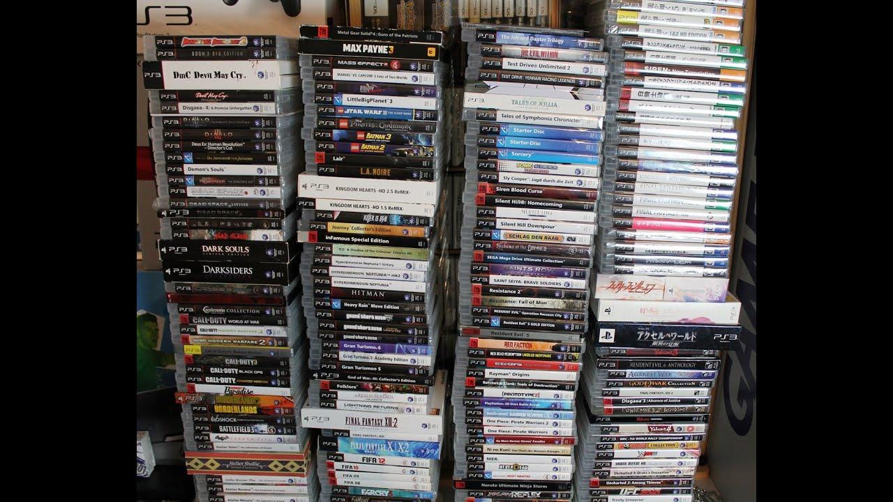 Meine Sony PS3 Spiele Sammlung - Deutsch [März 2016] [ 204 Spiele ...