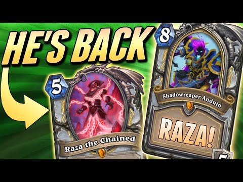 Raza Is Unnerfed And 0 Cost Hero Powers Are Back! | Solem