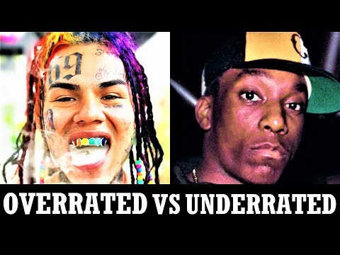 Overrated Rappers Vs. Underrated Rappers