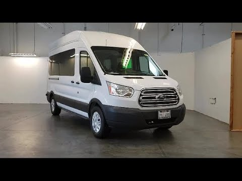 2017 Ford Transit-350 3d High Roof Wagon XLT Folsom Sacramento Roseville Elk Grove El Dorado Hil