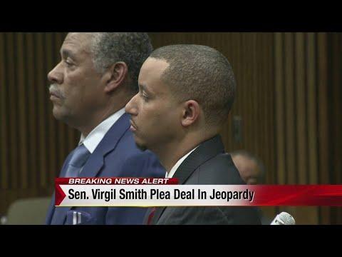 Sen. Virgil Smith plea deal in jeopardy