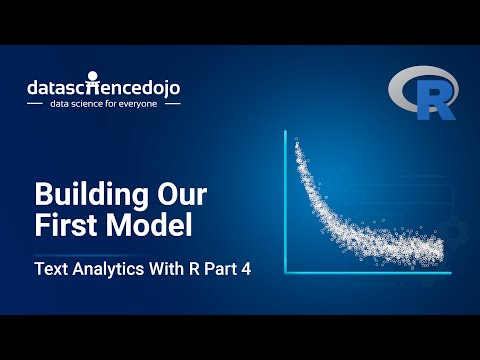 Building Our First Model | Introduction To Text Analytics With R Part 4
