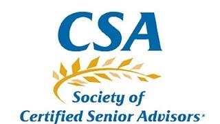 Certified Senior Advisor Program