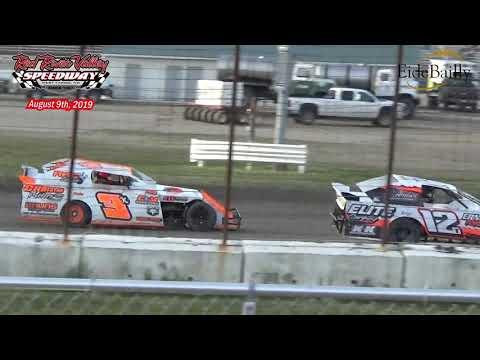 Red River Valley Speedway IMCA Sport Mod Heats (8/9/19)