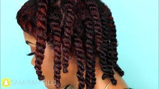 Moisture Infusion Regimen for Dry Low Porosity Natural Hair | Samirah Gilli