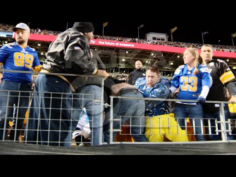 Andi and Kenny  - Steelers fan chokes pregnant Chargers fan at game