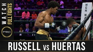Russell vs Huertas FULL FIGHT: November 2, 2019 - PBC on FS1