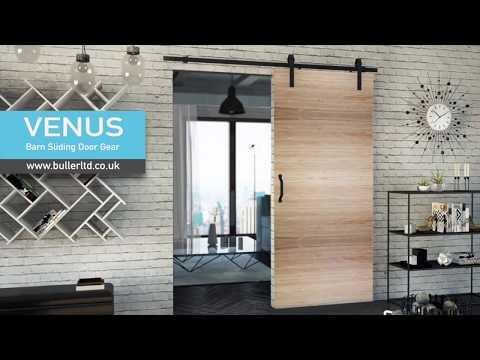 Barn Style Sliding Door Gear | Venus | Buller Ltd