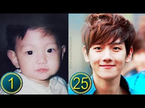 Exo Byun Baekhyun Predebut Transformation From 1 To 25 Years Old Youtube