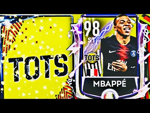 WE GOT FRANCE TOTS MASTERS  || 98 OVR MBAPPE TOTS IN FIFA MOBILE || Ligue 1 Tots packs and gameplay