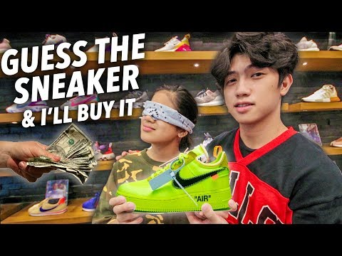 GUESS The Sneaker and I'll BUY It Challenge | Ranz and Niana