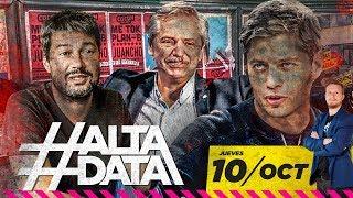 Comenzó la campaña sucia del gobierno   #AltaData, todo lo que pasa en un toque