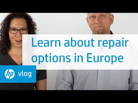 What to do if you need a repair for your HP computer in Europe: HP How To For You | HP Support