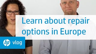 What to do if you need a repair for your HP computer in Europe: HP How To For You   HP Support