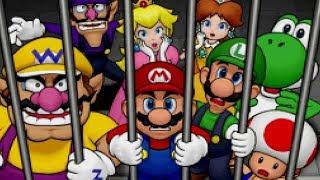 Mario Party DS - Story Mode Walkthrough Part 1 - Wiggler's Garden