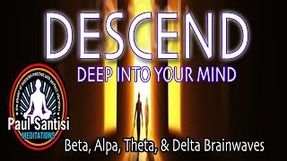 REMOVE NEGATIVE BLOCKS DEEP VISUAL RELAXATION GUIDED MEDITATION BRAINWAVES Solfeggio PAUL SANTISI