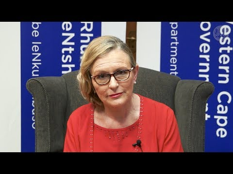 Premier Zille's message on Cape Town's water crises