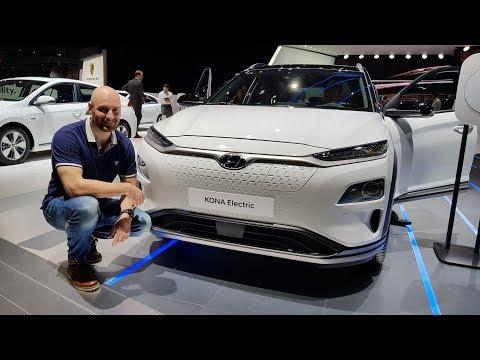 Hyundai Kona EV Geneva Motorshow
