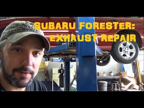 Repair Exhaust Rattle : Subaru Forester