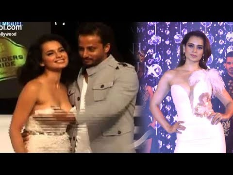 Kangana Ranaut Saved From EMBARRASSING Moment In Front Of Media At Vogue Fashion Show