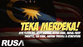 Teka Merdeka: Bersama Ayie Floor 88, Ariff Bahran, Atmosfera, Asfan Shah, Isa Khan & RUSA Artist!
