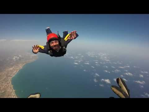 chris crash skydiving