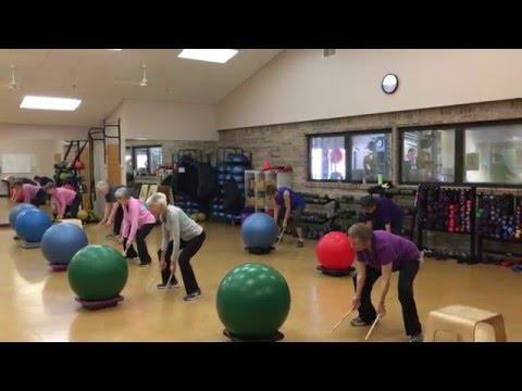 Mettler Center - Boomer Beats class