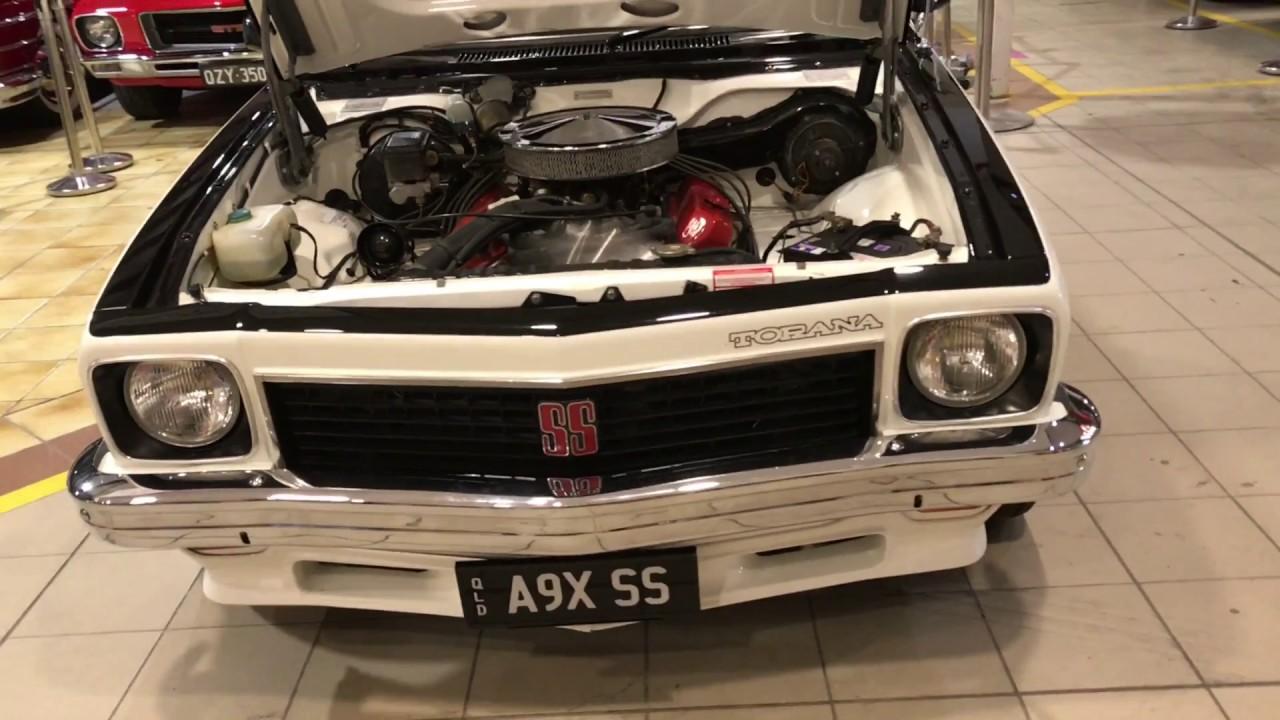 A9X Running - Lloyds Classic Car Auction - YouTube