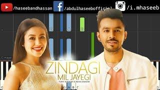Zindagi Mil Jayegi Piano Tutorial - Tony Kakkar & Neha Kakkar | Free Piano Midi | Best Songs 2018