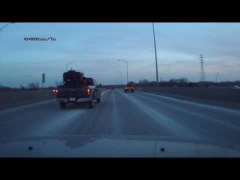 Rage au volant sur l'autoroute 40 a Montreal