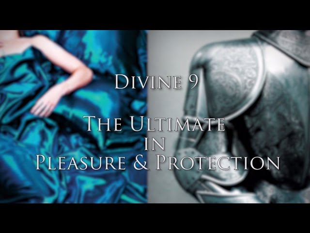 The Ultimate in Pleasure and Protection - Divine 9 from CarraShield Labs