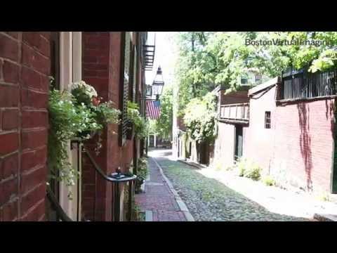 Acorn Street, Beacon Hill, Boston MA