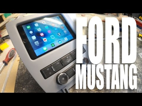iPad Install - Ford Mustang