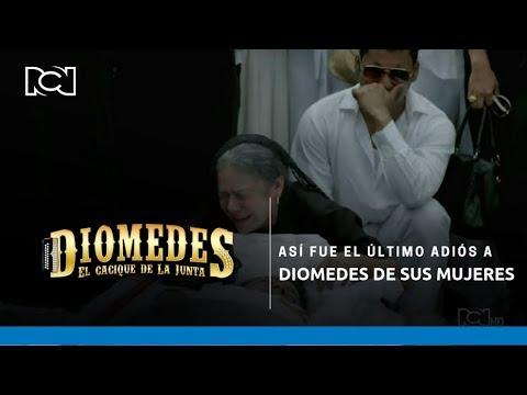 Diomedes - As� fue el �ltimo adi�s a Diomedes de sus mujeres