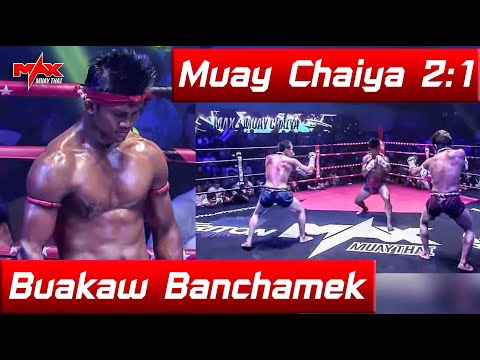 MAX 2 Pattaya : Buakaw Banchamek vs. Kaolanlek & Paosee Kawvichit