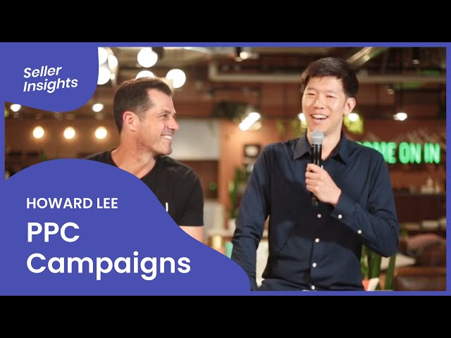 Amazon PPC Campaigns In Preparation for Q4 - SELLER INSIGHTS (feat. PPC Expert Howard Lee)