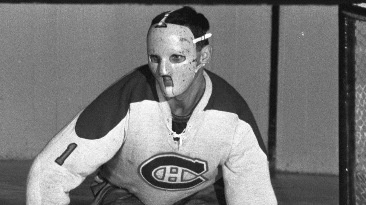 Memories Plante Becomes First Goalie To Wear A Mask Youtube