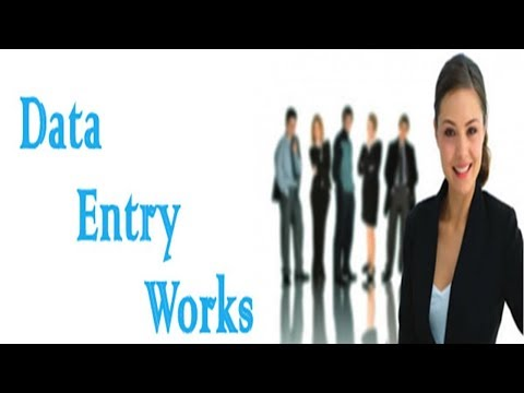 Data Entry Work at Home in Pakistan